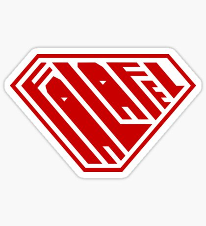 Falafel SuperEmpowered (Red) Sticker