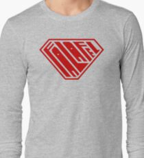 Falafel SuperEmpowered (Red) Long Sleeve T-Shirt