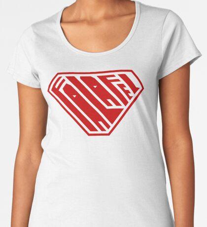 Falafel SuperEmpowered (Red) Women's Premium T-Shirt