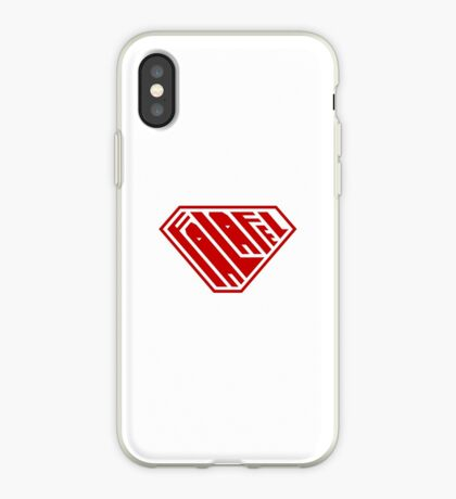 Falafel SuperEmpowered (Red) iPhone Case