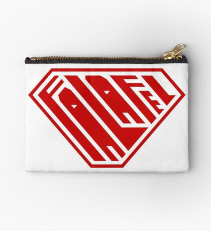 Falafel SuperEmpowered (Red) Zipper Pouch