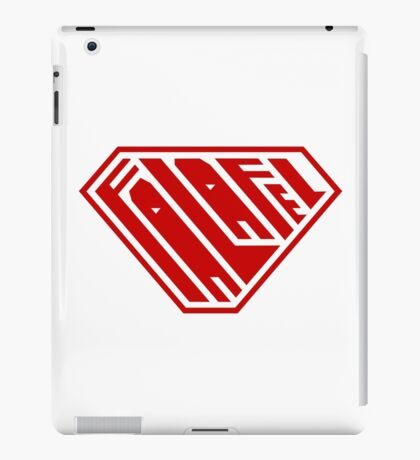 Falafel SuperEmpowered (Red) iPad Case/Skin