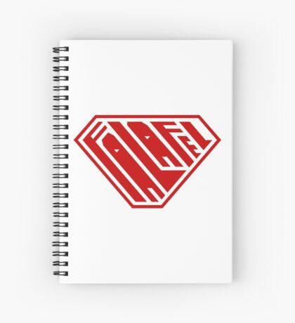Falafel SuperEmpowered (Red) Spiral Notebook