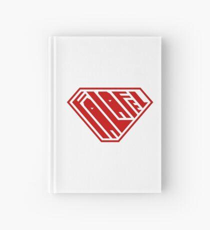 Falafel SuperEmpowered (Red) Hardcover Journal