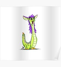 Monster Alphabet - Letter J Poster