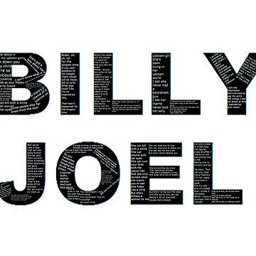 Billy Joel Lyrics by EddRising