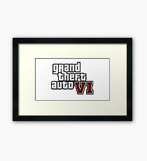 Grand Theft Auto VI (6) Framed Print