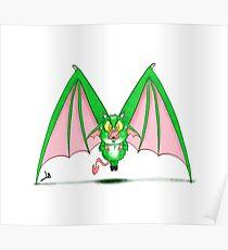 Monster Alphabet - Letter M Poster
