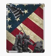 Iwo Jima American Flag  iPad Case/Skin