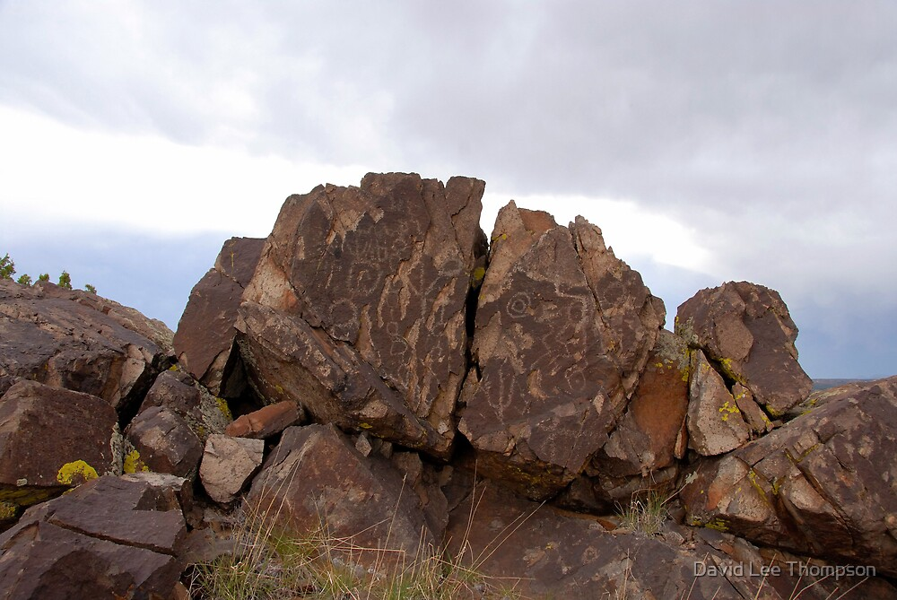 Rock Art Landscape by David Lee Thompson