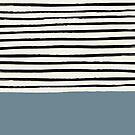 Dusty Blue x Stripe by Leah Flores