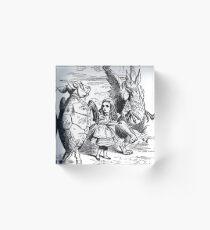 Mock Turtle and Gryphon Acrylic Block