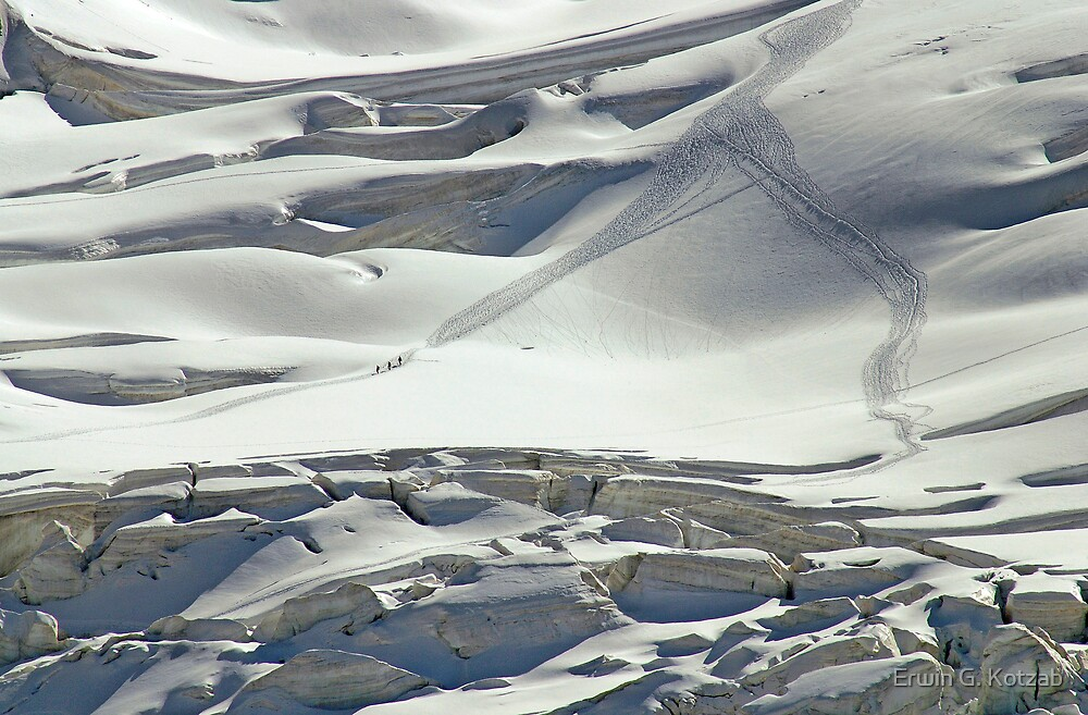 Cambrena Glacier, Switzerland by Erwin G. Kotzab