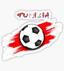 Tunisia Soccer Shirt - Tunisia Football Shirt - Tunisian Soccer Shirt  Sticker 76117e8c6
