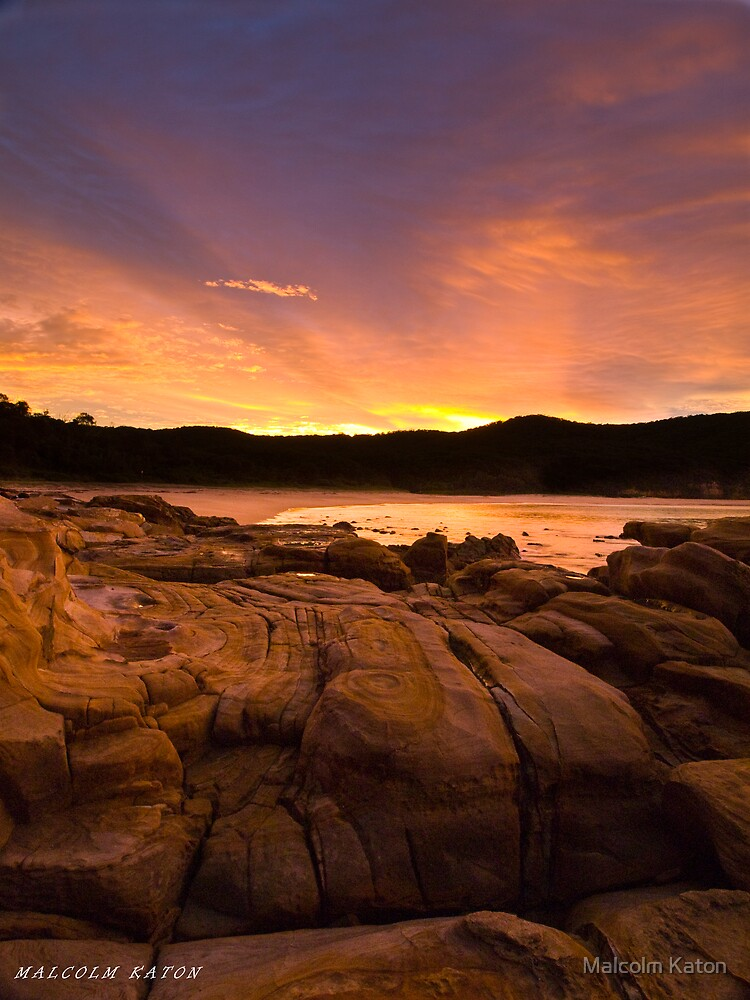 Tequila on the Rocks - Bouddi NP, NSW by Malcolm Katon