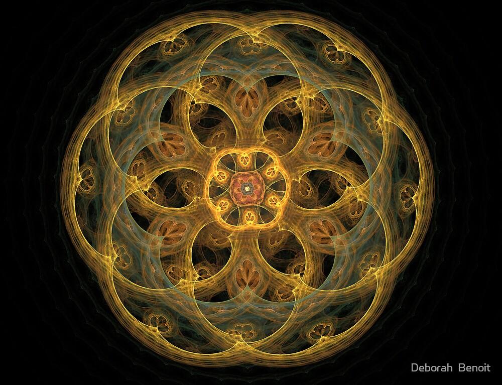 Golden Energy by Deborah  Benoit