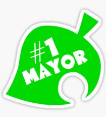 #1 Mayor - Animal Crossing Sticker