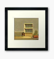 Postmodern Drive By Framed Print