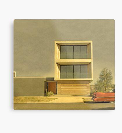 Postmodern Drive By Metal Print
