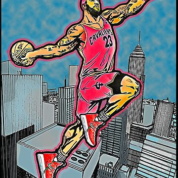 CHE CHE LE BRON BRON: ABOVE THE CLOUDS by SOLSKETCHES