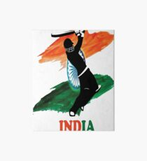 India Cricket T Shirt Art Board