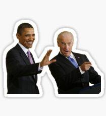 biden obama Sticker