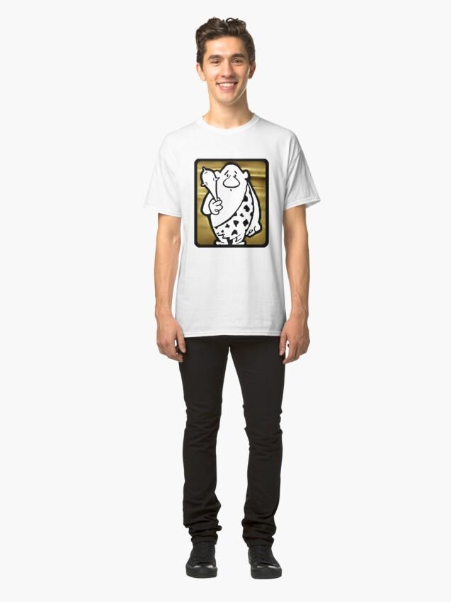 Alternate view of SCRATCH, The Original Caveman Classic T-Shirt