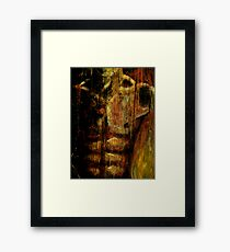 Tabula Rasa: The Dorian Grey Effect Framed Print
