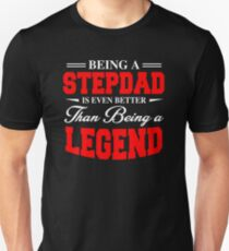 Great Costume For Father's Day. Gift For Step Dad. Unisex T-Shirt