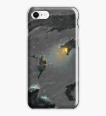 Warrior slaying Dragon iPhone Case/Skin