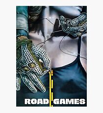 ROAD GAMES Photographic Print