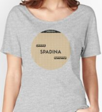 SPADINA Subway Station Women's Relaxed Fit T-Shirt