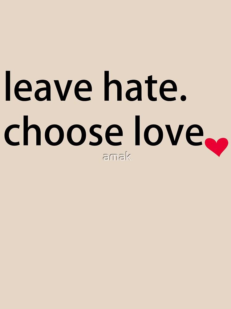 Choose love by amak