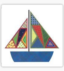 Kids Sailboat Sticker