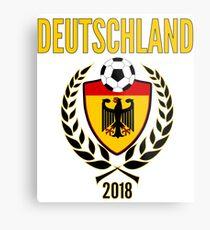Deutschland Fußball Jersey 2018 Fussball WM Trikot Welt Fußball Cup Metalldruck