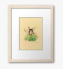Catori Stalks Like a Fox Framed Print
