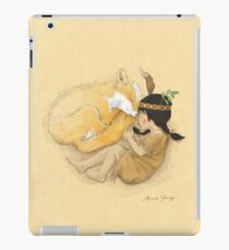 Catori Sleeps Like a Fox iPad Case/Skin