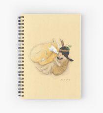 Catori Sleeps Like a Fox Spiral Notebook