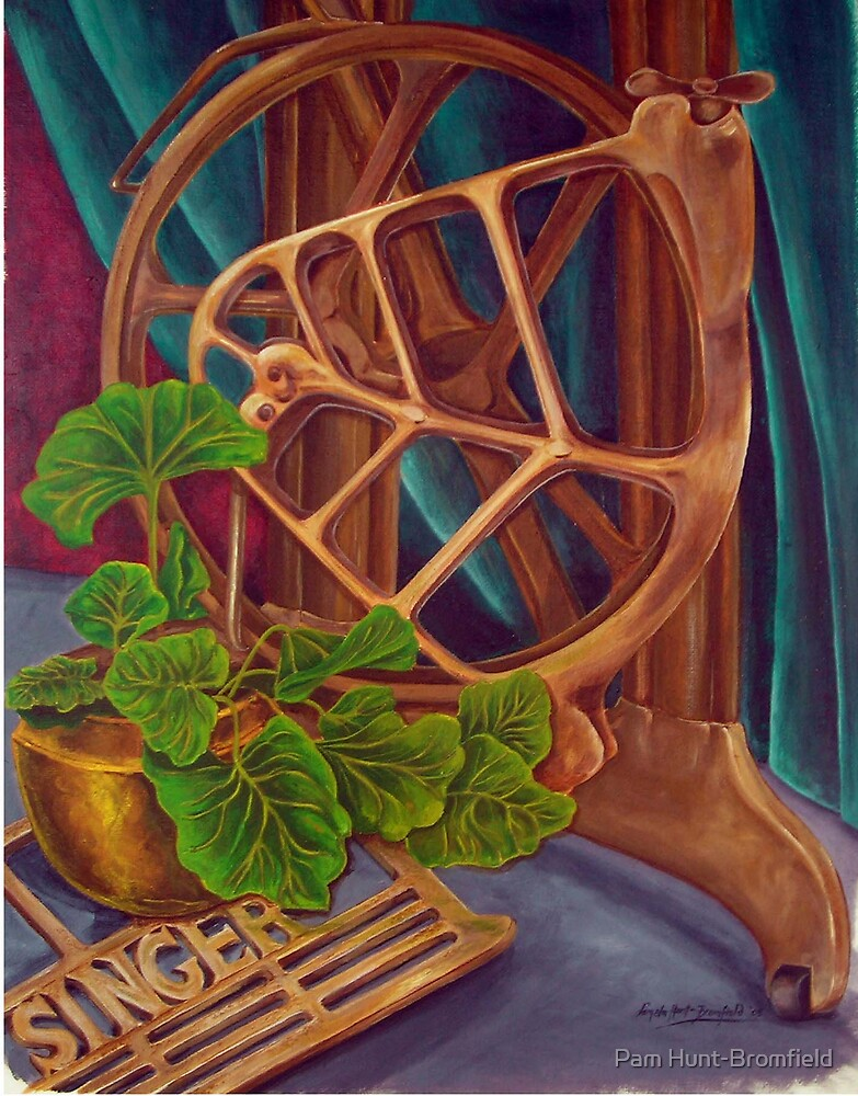 'Mama's Machine' by Pam Hunt-Bromfield