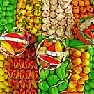 Colorful Marzipan Fruits by MaluC