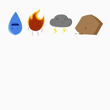 Elements by prielloart
