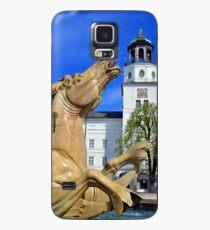 Horse Fountain in Salzburg Austria Case/Skin for Samsung Galaxy