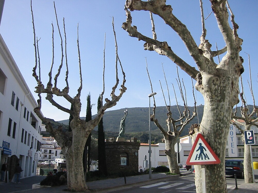 Cadaques Street by Quinton Smith
