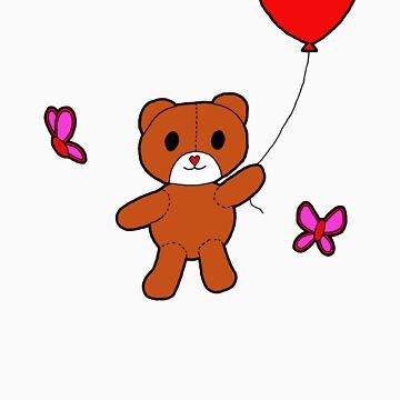 bear of love by happyartist