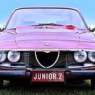 Alfa Romeo Junior Zagato by Martin Lomé