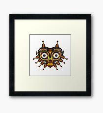 Steampunk Mask Framed Print
