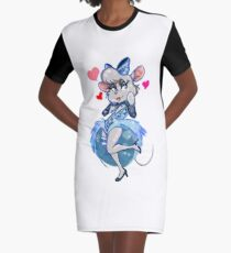 Let Me Be Good To You Graphic T-Shirt Dress