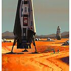 SpaceX: Astronauts on Mars by MichailoAvilov