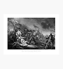 Battle of Bunker Hill Photographic Print