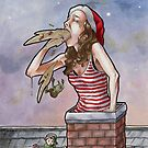 I'm Choking on a Cheap Christmas by ria gilham
